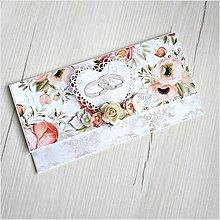 Papiernictvo - Obálka na peniaze - 12060058_