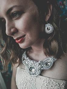 Sady šperkov - Hébara - šujtašový set - 12059858_