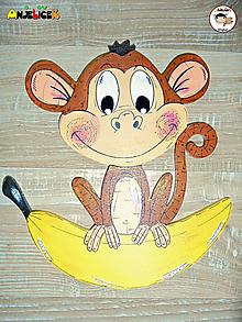 Tabuľky - Menovka - opica - 12059971_