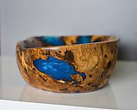 Nádoby - Unikátna drevená misa z rakoviny dreva s epoxidom - 12058052_