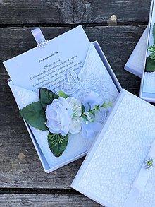 Papiernictvo - Poďakovanie rodičom v krabičke - 12058145_