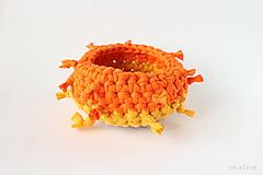 Košíky - slnečný ježko - 12062836_