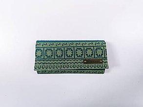 Peňaženky - Priehradková peňaženka Elewille Zara Lemongrass - 12061908_
