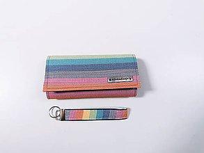 Peňaženky - Priehradková peňaženka Lenny Lamb Sunrise Rainbow + kľúčenka grátis - 12061916_