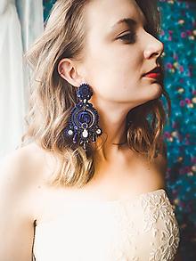 Náušnice - Extraordinary earrings - sutaškové náušnice - 12061172_