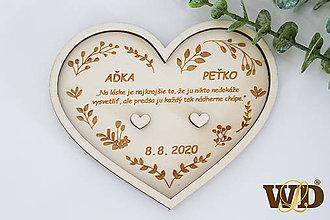 Prstene - Tanierik na obrúčky - 12062034_