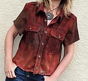 recy-košeľa etno