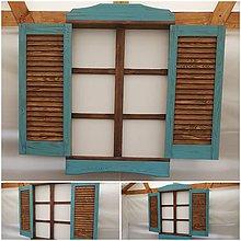 Dekorácie - Falošné okno dekoracia - 12061177_