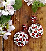 Náušnice - Náušnice Cherry - 12060747_