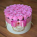Dekorácie - Splendid flower box L (Ružová) - 12061040_