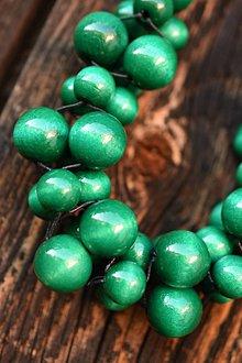 Náhrdelníky - Zelenýýý - 12062055_