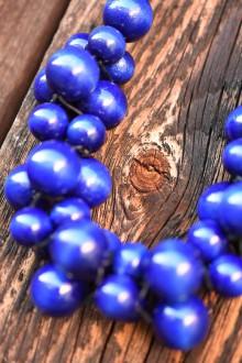 Náhrdelníky - Modrýýý - 12062135_