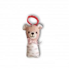 Hračky - Detská hrkálka Macko - 12061070_