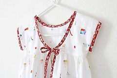 """Detské oblečenie - Low Back šaty krátke """"Detstvo"""" - 12063131_"""
