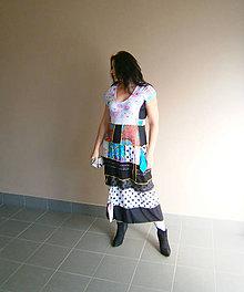 Šaty - romantic plus size 9-maxišaty - 12066098_