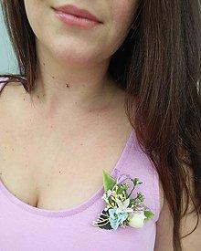 """Odznaky/Brošne - Kvetinová brošňa """"Lilith"""" - 12064873_"""