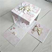 Papiernictvo - Krabička na peniaze - 12067180_