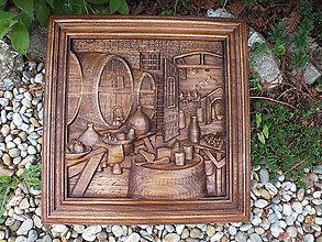 Obrazy - Zátišie - vínna pivnica I. - 12066782_