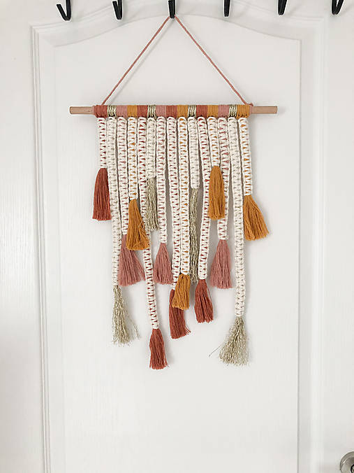 Dekorácie - !ZĽAVA! Macramé dekorácia do detskej izby - 12064889_
