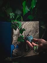 Nábytok - Úchytka - knopka černá velká - vzor BÁBOVKA - 12064575_