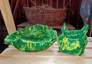 Nádoby - Betónový handmade obal- set - 12066504_
