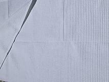 Textil - súprava-biela deka pre dievčatko - 12065956_