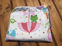 Textil - súprava-biela deka pre dievčatko - 12065963_