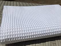 Textil - súprava-biela deka pre dievčatko - 12065967_