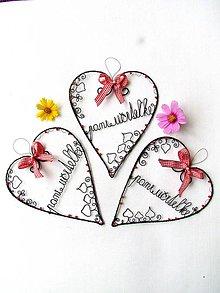 Dekorácie - Pani učiteľke z lásky I. (I.) - 12063891_