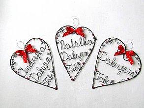 Dekorácie - Pani učiteľke z lásky I. (II.) - 12063897_