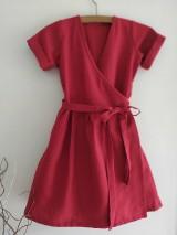 Šaty - Zavinovacie šaty - 12064661_
