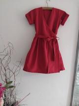 Šaty - Zavinovacie šaty - 12064662_