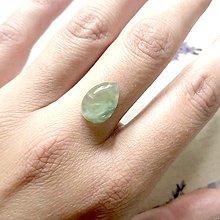 Prstene - NA OBJEDNÁVKU Prehnite AG925 Ring / Strieborný prsteň v tvare slzy s prehnitom s patinou - 12067516_