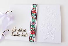 Papiernictvo - svadobná kniha hostí - 12067321_