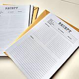 Papier - Univerzálna náplň do Receptárov typ A - 12068107_