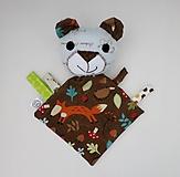 Hračky - Mojkáčik macko - Macík z Tmavého lesa - 12067478_