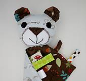 Hračky - Mojkáčik macko - Macík z Tmavého lesa - 12067479_