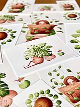 Grafika - Letná pohodička - Print   Botanická ilustrácia - 12067772_