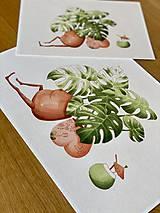 Grafika - Letná pohodička - Print   Botanická ilustrácia - 12067776_