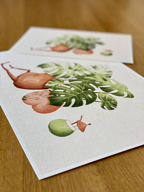 Letná pohodička - Print   Botanická ilustrácia