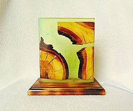 Svietidlá a sviečky - Stolná lampa - 12068071_