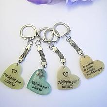 """Iné šperky - Kľúčenka """"Najlepšia pani učiteľka... """" - 12069914_"""