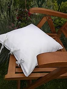 Úžitkový textil - Ľanová obliečka na vankúš - 12069179_