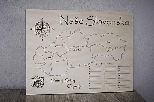Mapa cestovateľa veľká