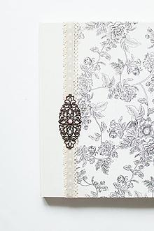 "Papiernictvo - Svadobný album "" floral "" - 12068275_"