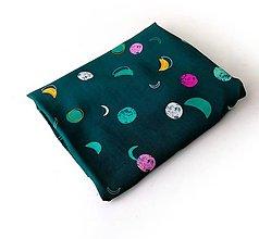 Textil - Blúzkovina kolekcia Lugu s mesiačikmi - 12068224_
