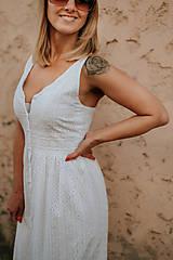 Šaty - Madeirové letné šaty - 12067900_