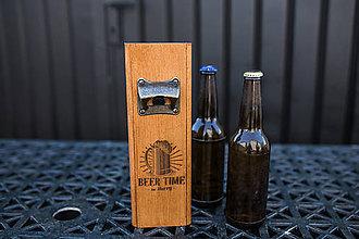 Dekorácie - Otvárak na fľaše, Darček pre milovníka piva - 12067864_