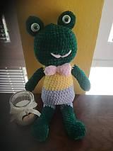 Hračky - Žabka Želka - 12069848_