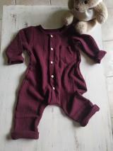 Detské oblečenie - Chlapčenský overal - 12067752_